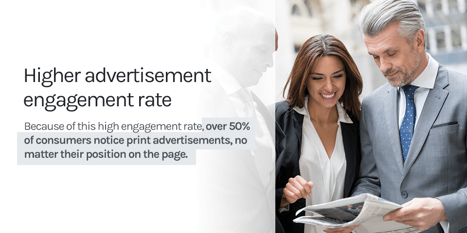 higher advertising rate